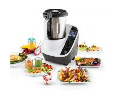 Klarstein Food Circus Robot de cocina Olla al vapor 10 programas 500/1100 W Blanco (TK20-Food-Circus-A)