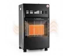 DURAMAXX Kamtschatka Calefactor de gas Quemador de cerámica Infrarrojos 4,1 kW Negro (HTR1-Kamtschatka)