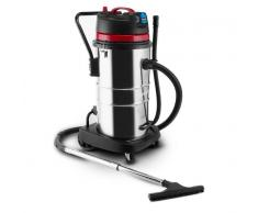 Klarstein Reinraum Aspiradora en seco y húmedo Aspiradora industrial 2000 W HEPA 60L Toma de corriente (VCM-Reinraum-60)