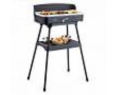 OneConcept Porterhouse Barbacoa eléctrica Barbacoa de mesa 2200 W Revestimiento de cerámica (GQR1-Porterhouse)