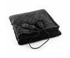Klarstein Dr. Watson XL Manta eléctrica 120 W lavable 180x130cm micro fibra negra (HZD2-Dr.Watson-XL-BK)