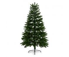 OneConcept Rothenburg Árbol de Navidad Abeto artificial 180cm Molde por inyección PE 617 ramas (LEL4-Rothenburg180)