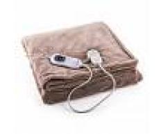 Klarstein Dr. Watson XXL Manta eléctrica 120W lavable 200x180cm Microfibra beige (HZD2-Dr.Watson-XXLBG)