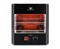 Klarstein Steakreaktor Pro Barbacoa para interior Asador de alta temperatura Made in Germany (Steakreaktor Pro (s))