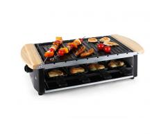 Klarstein Chateaubriand Raclette 8 personas 1200 W (LC4-CHATEAUBRIAND-50)