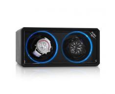 Klarstein 8LED2S Estuche para 2 relojes Negro LED (WW1-8LED2S)