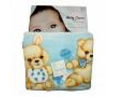 T&R BABY Cubierta de la bolsa de bebe manta polar cuna camisa de la silla de ruedas horizontal T & R Amarillo TU
