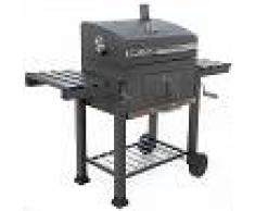 Royal Food Barbacoa de carbón CB 2350 con parrilla de acero - Superficie de cocción 2400 cm2
