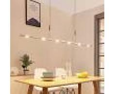 LAMPENWELT.COM Lámpara colgante LED Arnik regulable, atenuable