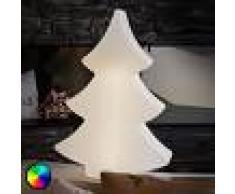 8 SEASONS Árbol de Navidad Shining Tree LED RGB - 78 cm