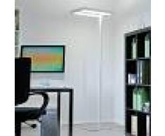 LAMPENWELT.COM Lámpara de pie para oficina Quirin con LED