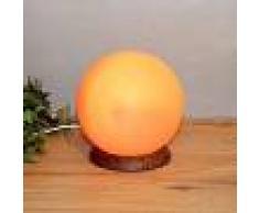 WAGNER LIFE Lámpara de sal PLANETO con forma esférica