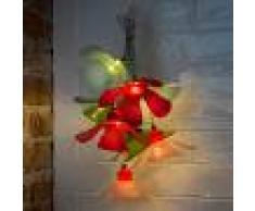 KONSTSMIDE Cadena de luces de flores colorida LED