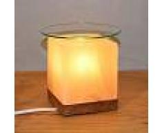 WAGNER LIFE Lámpara de sal aromática KUBUS