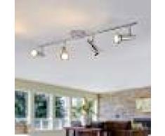 LAMPENWELT.COM Foco empotrado LED de techo Thom con 4 brazos GU10