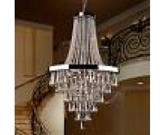 SCHULLER Espléndida lámpara de araña Palace de cristal
