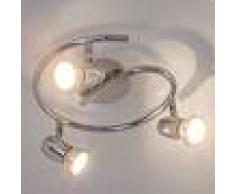 Lampenwelt.com Glorieta de techo Arminius con lámparas LED GU10