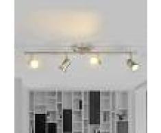 LAMPENWELT.COM Foco empotrado LED de techo Celestine con 4 brazos