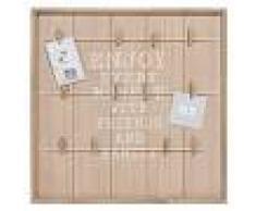Maisons du Monde Tablón para fotos de pino 48x48