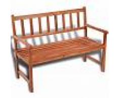 vidaXL Banco clásico de madera para el jardín
