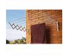 Cuncial Tendedero AC100 311016 Acero Pintado 100CM Blanco