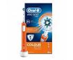 PROCTER & GAMBLE SRL Oral-B Cruz Accion Pro 600 Color Edicion cepillo de dientes electrico recargable de Orange
