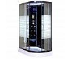 Home Deluxe cabina ducha Black Pearl con baño turco