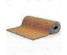 VidaXL Felpudo de fibra de coco color natural 17 mm 100x400 cm