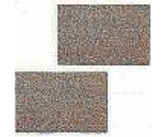 VidaXL Felpudo de fibra de coco color natural 17 mm 100x300 cm