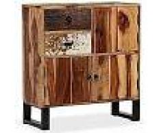VidaXL Aparador de madera maciza de sheesham 70x30x80 cm