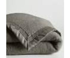 LA REDOUTE INTERIEURS Manta de pura lana virgen Woolmark 350 g/m² GRIS