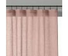 70c4753730f LA REDOUTE INTERIEURS Cortina visillo 100% lino ONEGA ROSA