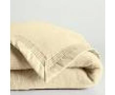 LA REDOUTE INTERIEURS Manta de pura lana virgen Woolmark 350 g/m² BLANCO