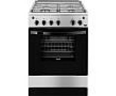 Zanussi Horno Y Encimera Zcg61281xa Cocina Independiente De Gas A Acero Cocina