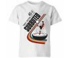 Subbuteo Camiseta Subbuteo Fútbol de Mesa 45 - Niño - Blanco - 9-10 años - Blanco