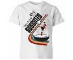Subbuteo Camiseta Subbuteo Fútbol de Mesa 45 - Niño - Blanco - 7-8 años - Blanco