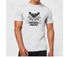 Disney Camiseta Disney Mickey Mouse Efecto Espejo - Hombre - Gris - 4XL - Gris