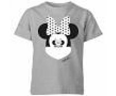 Disney Camiseta Disney Mickey Mouse Minnie Ilusión Espejo - Niño - Gris - 7-8 años - Gris