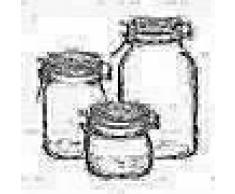 Bormioli Rocco Set tarros conserva Fido 3 pzas cristal 149740S06021990