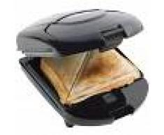 Bestron Sandwichera, tostadora y gofrera 3 en1 de ADM2003Z,520 W,negra