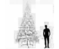 VidaXL Árbol de Navidad artificial XXL 400 cm blanco