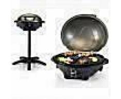 Tristar Barbacoa eléctrica con soporte BQ-2816 2200 W 46x35 cm negra