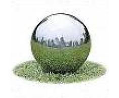 VidaXL Fuente decorativa de tipo bola con leds para jardín