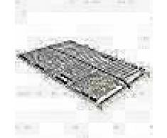 VidaXL Somier de láminas con 28 listones de 7 regiones 100x200 cm FSC