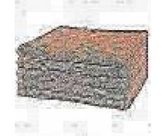 VidaXL Toallas de baño 5 unidades algodón 360 g/m² 100x150cm melocotón