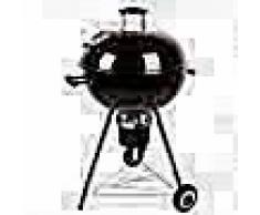 Grillchef Barbacoa de carbón kettle 53.5 cm negra11100