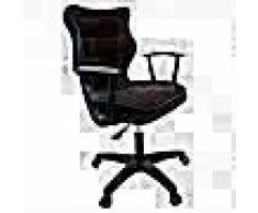 Good Chair Silla ergonómica de oficina NORM negra BA-B-6-B-C-FC01-B
