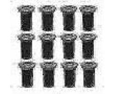 VidaXL Juego de luces 12 piezas de suelo en focos