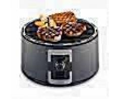 Trebs Barbacoa portátil de carbón 35 cm negra 99335