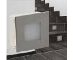 vidaXL Foco LED empotrable para escaleras 85 x 48 x 85 mm